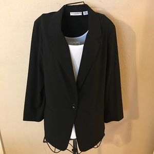 🎉Nice woman's one button blazer size 18W look🎉